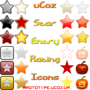 uCoz Entry Rating Icons